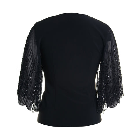 Zip Up Beaded Jacket