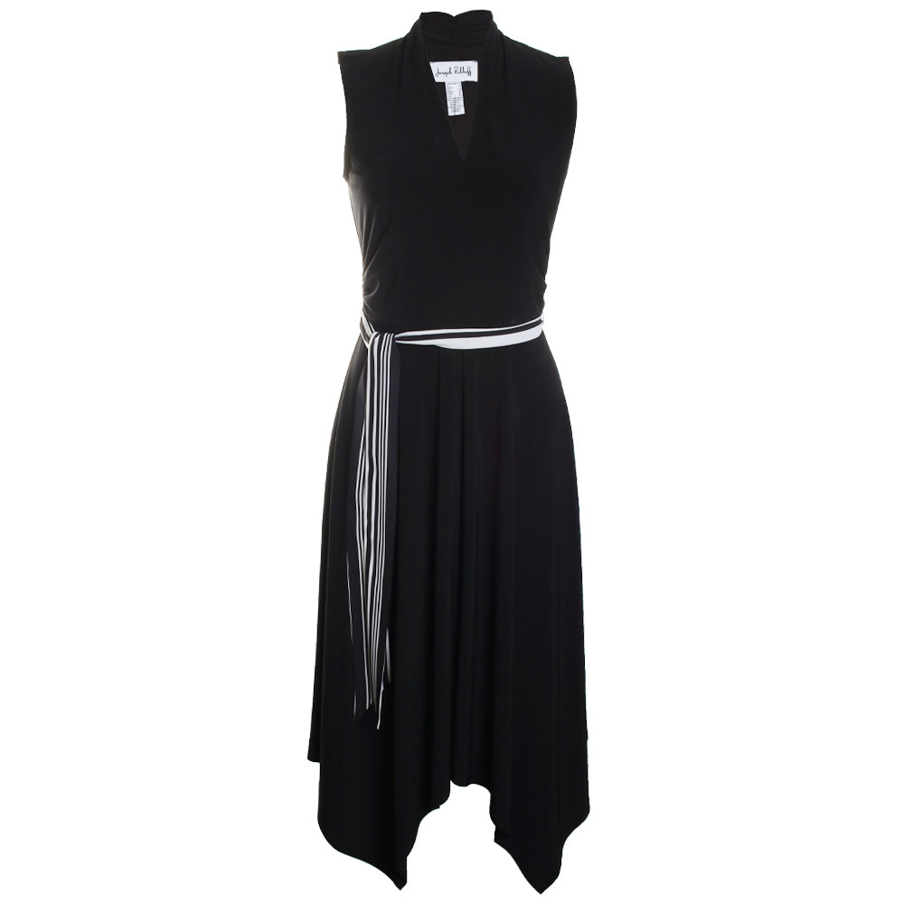 Tie Belted Flare Dress