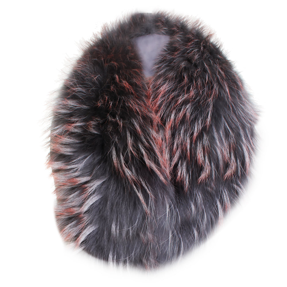 Dyed Fur Collar