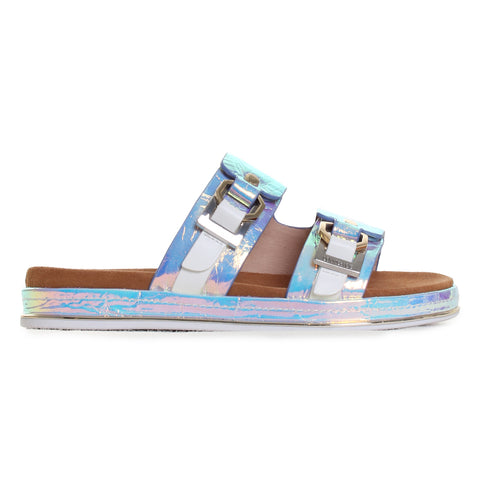 Alonsa Two-Strap Slider Sandals