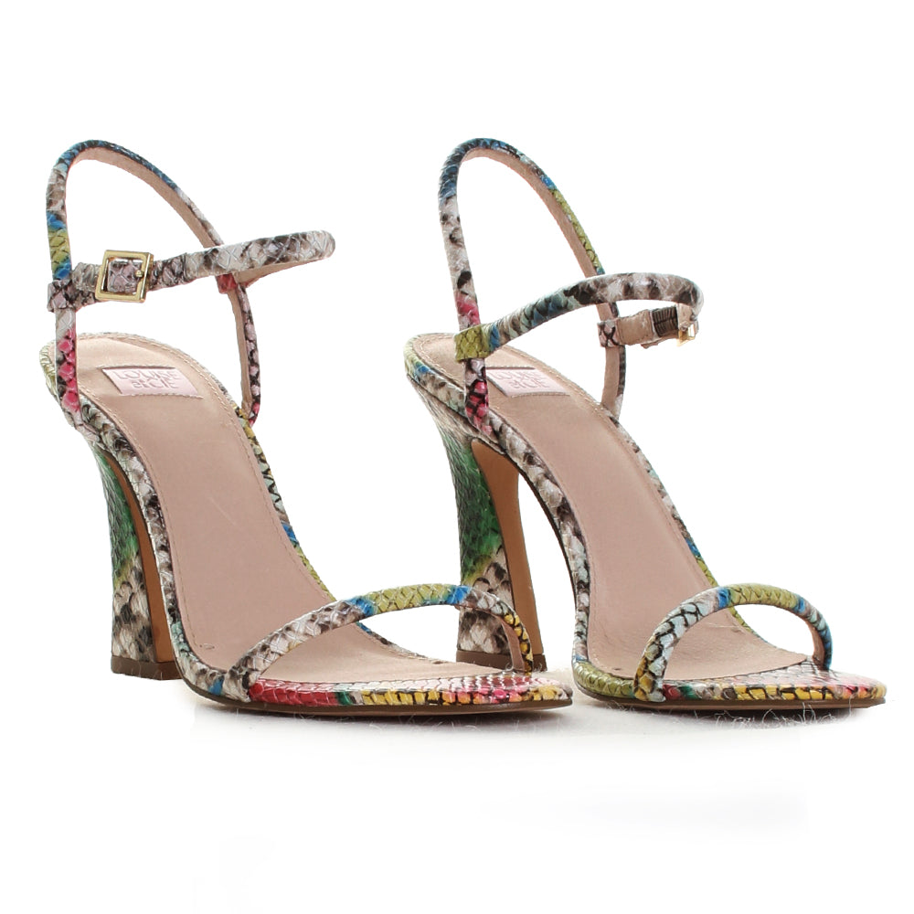 Isando Ankle Strap Heeled Sandals