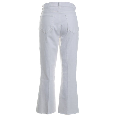 Kendra High Rise Crop Flair Jeans