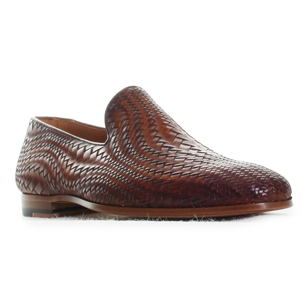 Herrera Woven Leather Loafers