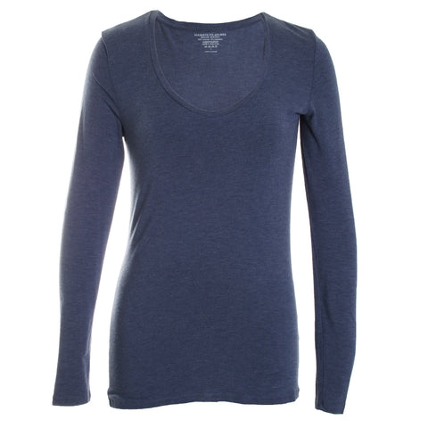 Amanda Soft Touch Scoop Neck Top