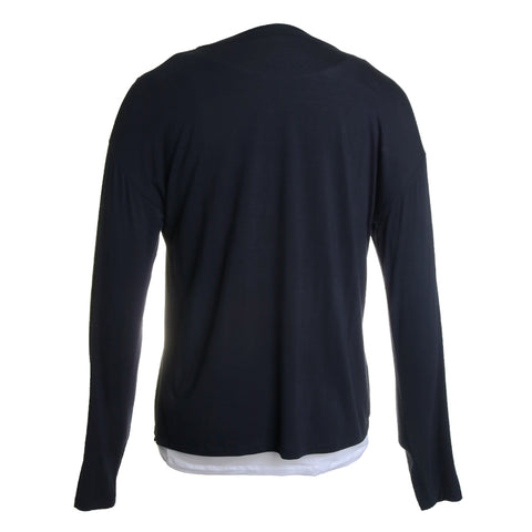 Layered Crew Neck Top
