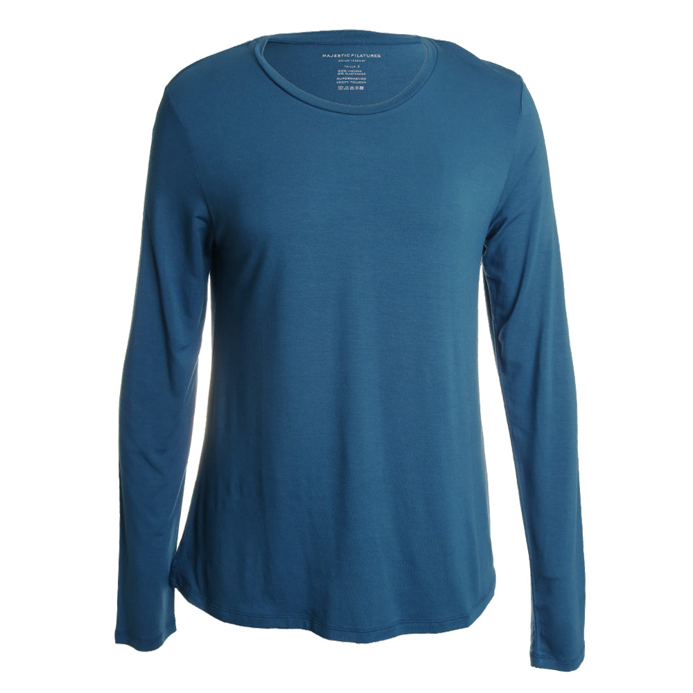 Long Sleeve A-Line Crew Neck Tee