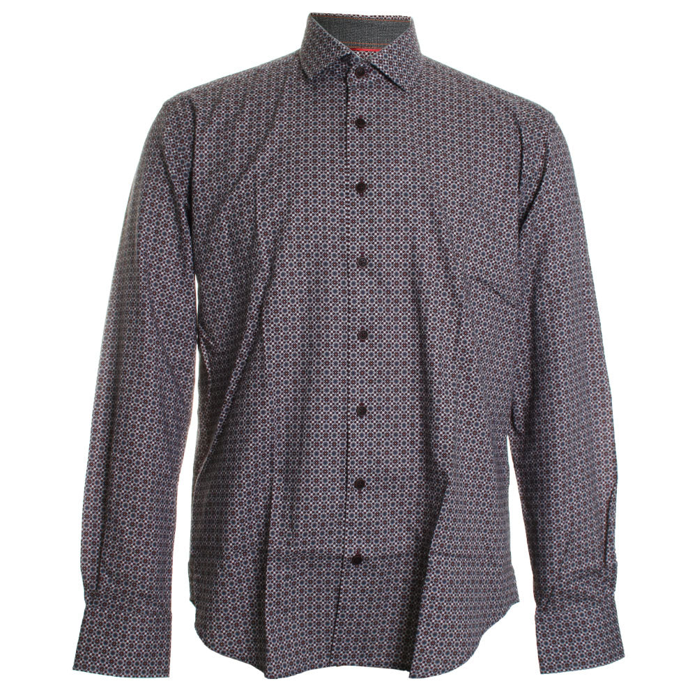 Medallion Print Dress Shirt