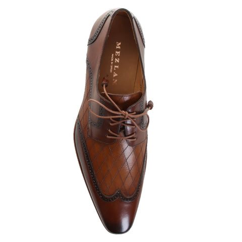 Argento Leather Oxford Shoes