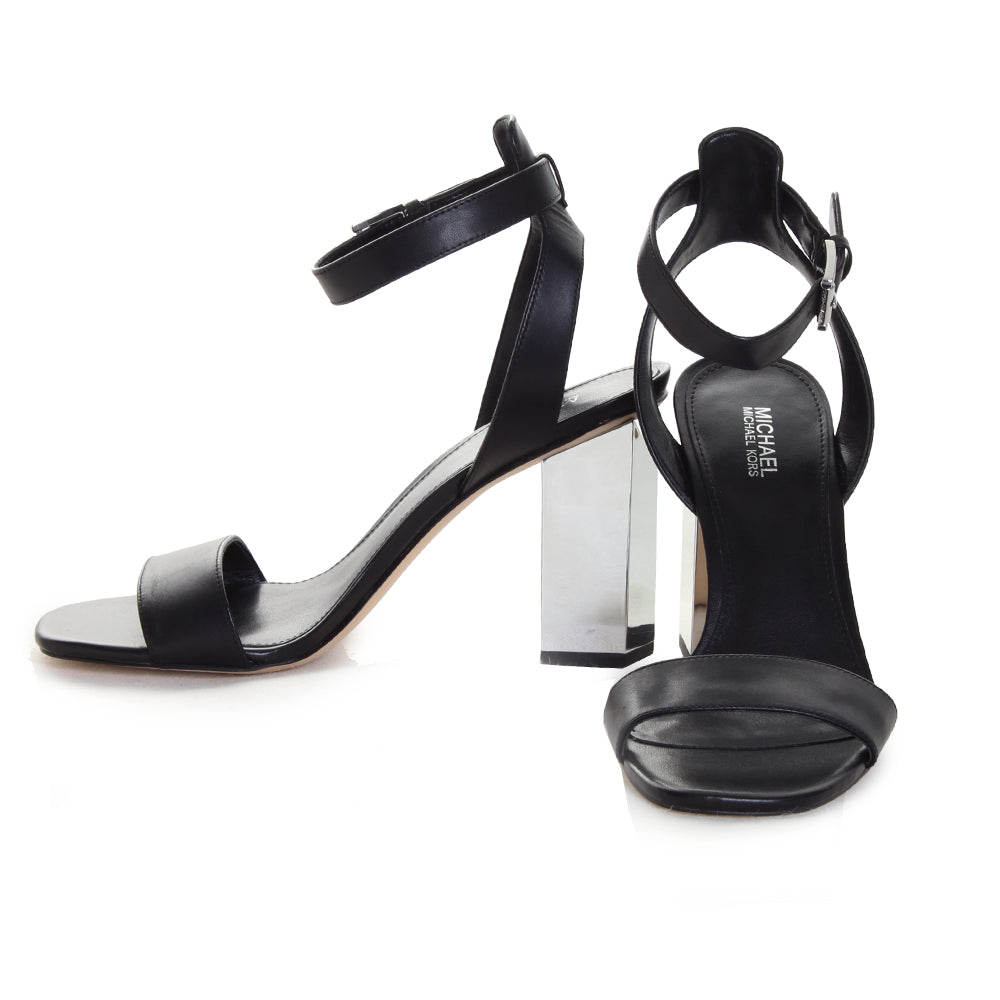 Petra Ankle Strap Heeled Sandals
