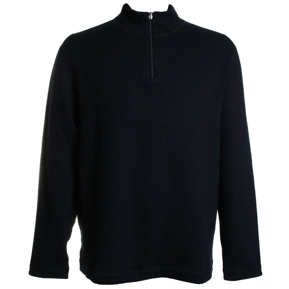 Reversible Quarter Zip Sweater