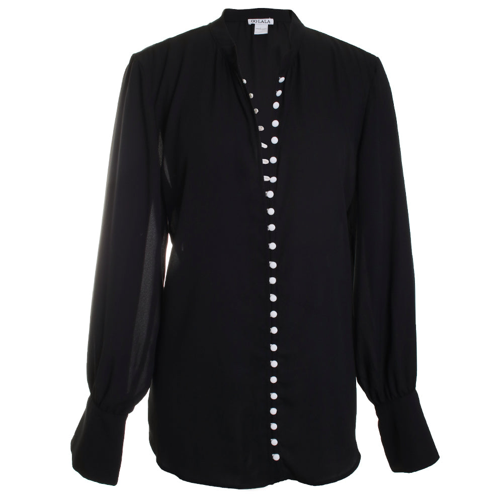 Cover Button Blouse