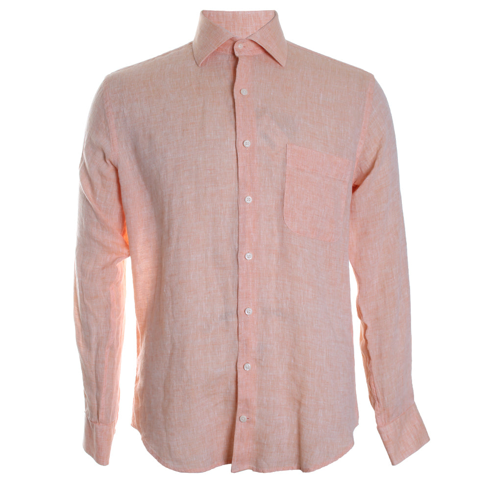 Crown Cool Linen Button Down Shirt