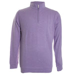 Crown Comfort Interlock Quarter Zip Knit Sweater