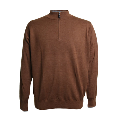 Crown Soft Cashmere 1/4 Zip Sweater