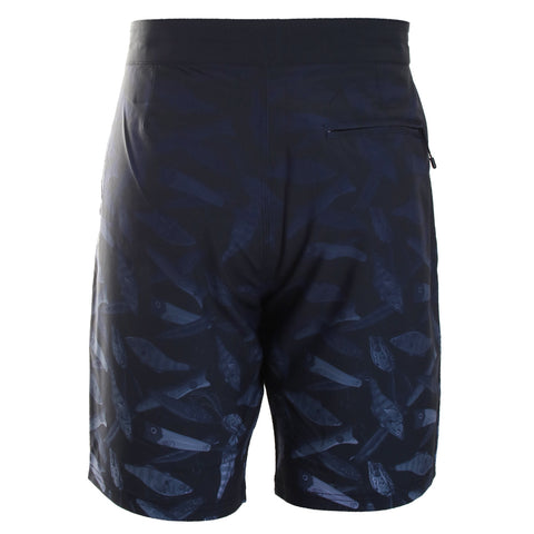 Fish Print Swim Shorts