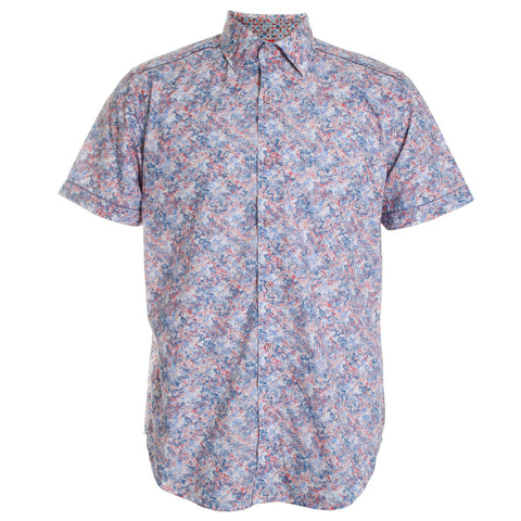 Haas Floral Button Down Shirt