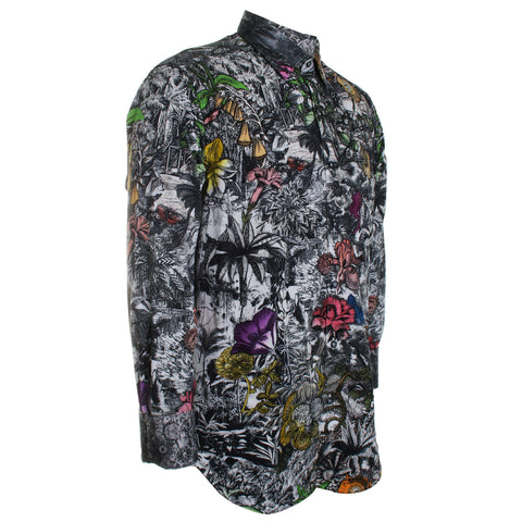 Into the Jungle Button Down Dress Shirt