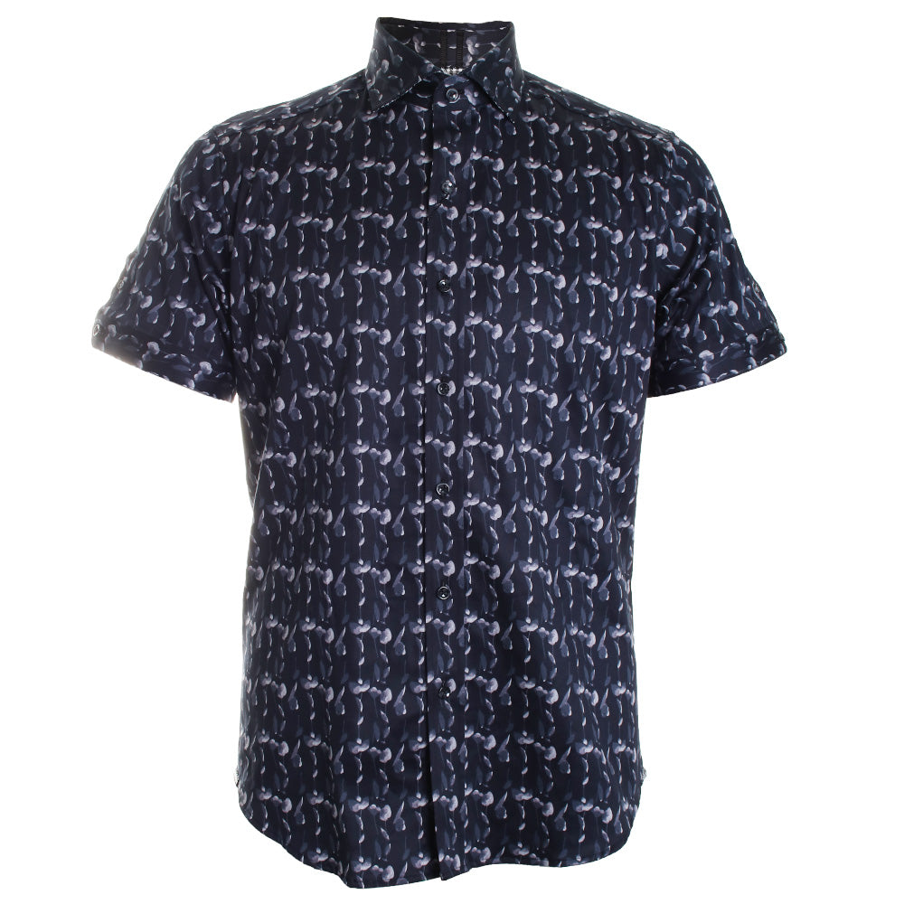 Tucker Printed Button Down Shirt