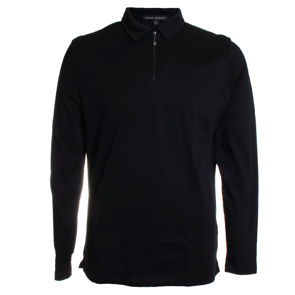 Georgia Long Sleeve Zip Polo