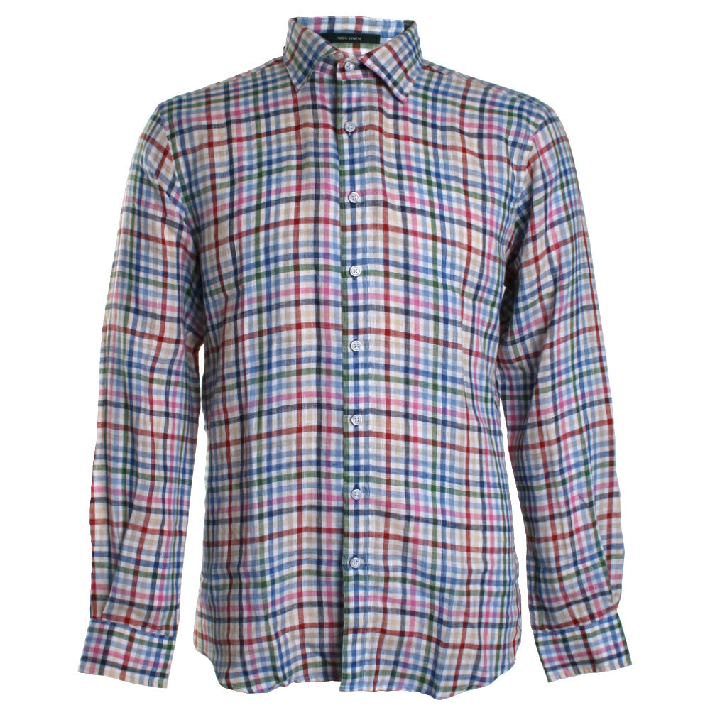 Logantown Plaid Button Down