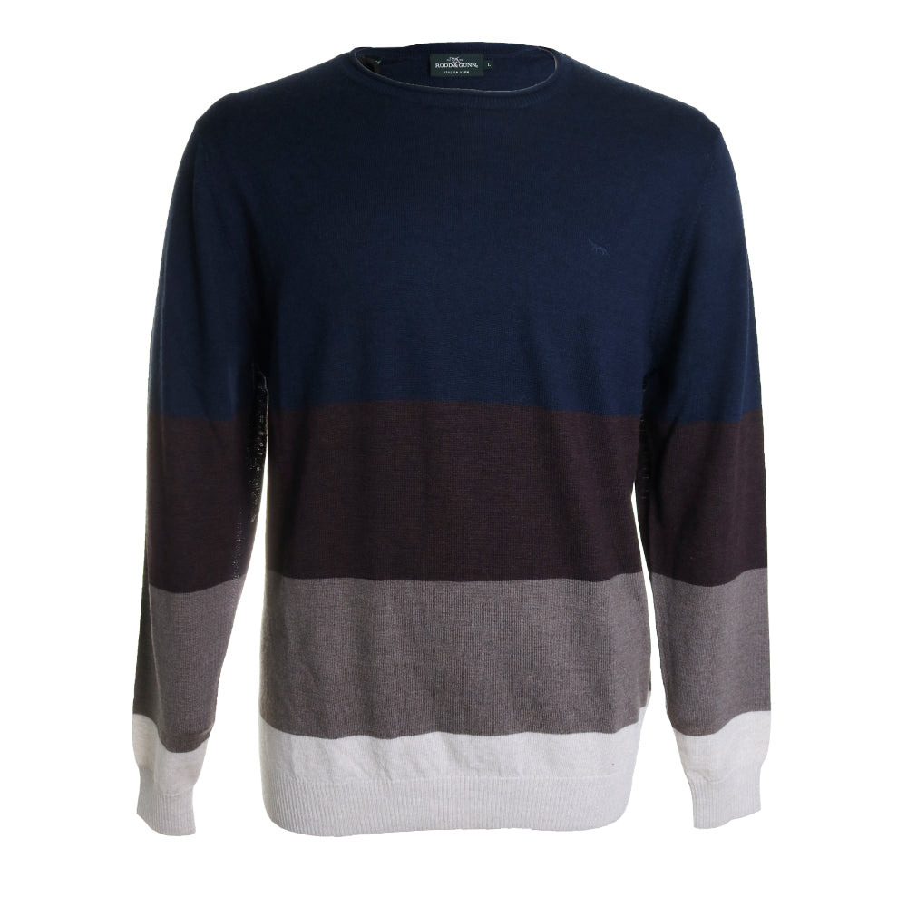 Wendon Crew Neck Knit Sweater
