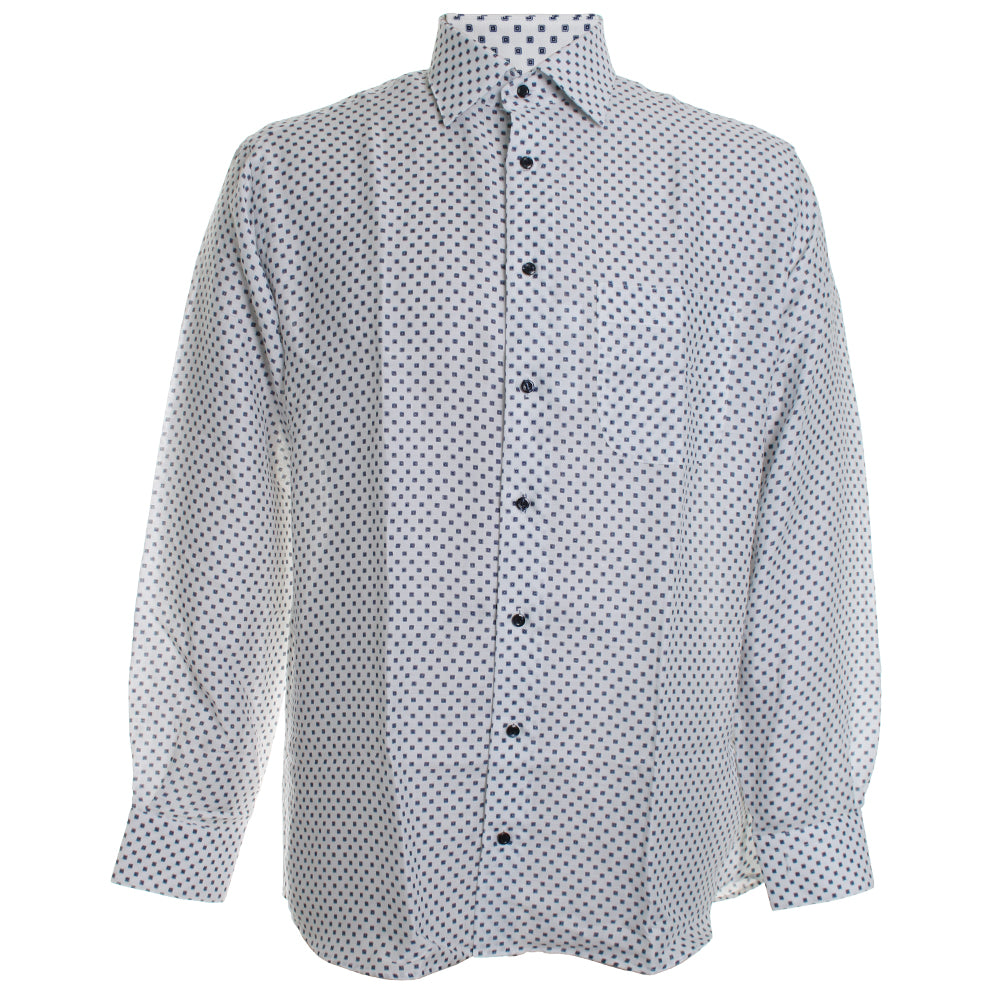 Tie Print Dress Shirt