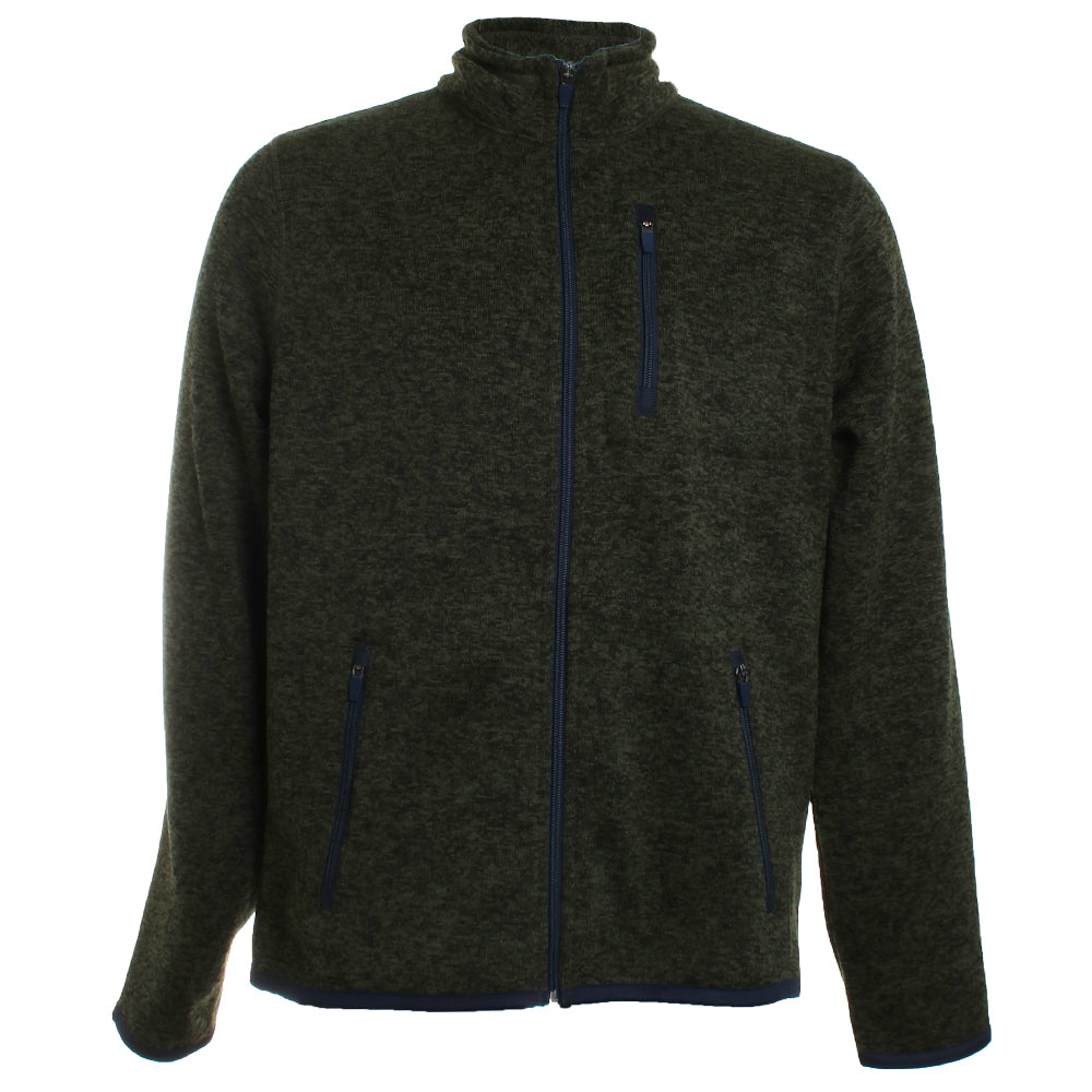 Full Zip Fleece Sweater