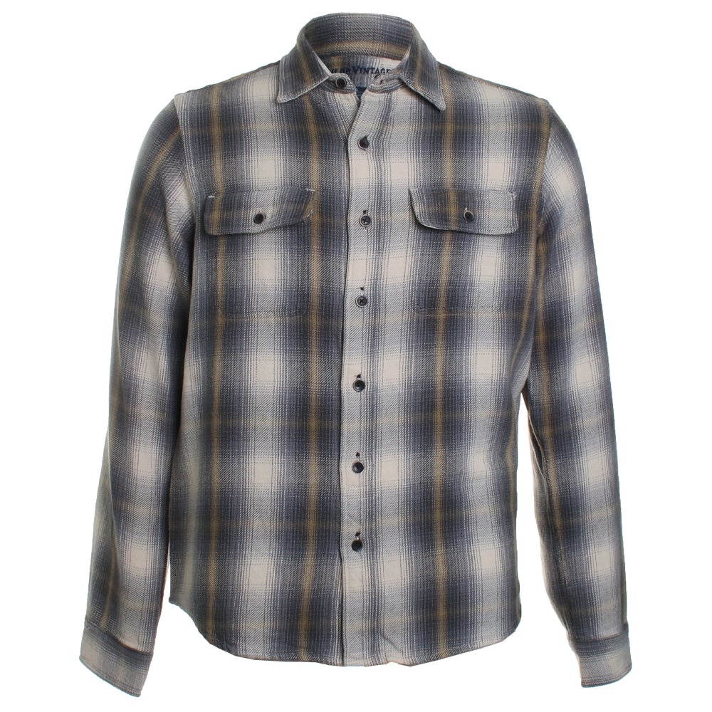 Reversible Flannel Button Down Shirt
