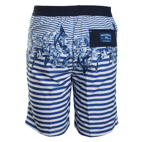 Baja Nautical Bloom Swimming Trunks