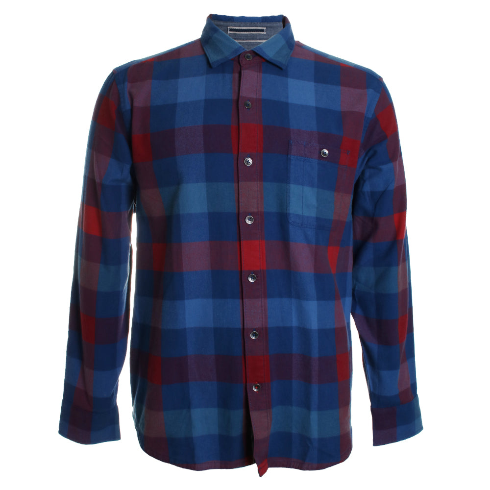 Camano Bay Checkered Button Down Shirt