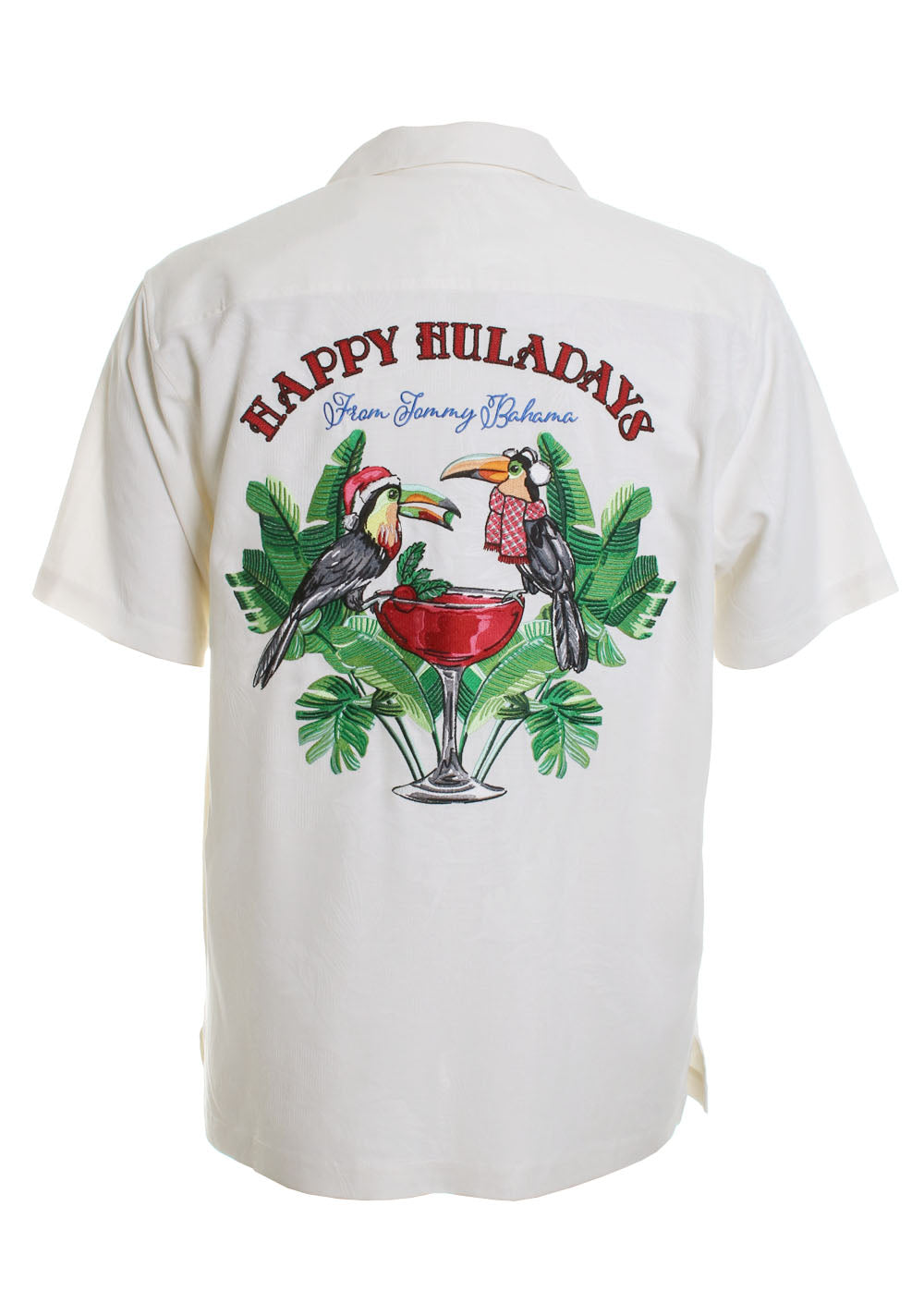 Happy Hula Days Button Down Camp Shirt