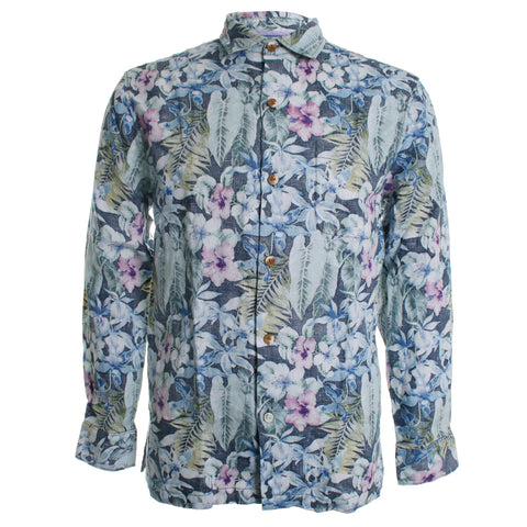 Bahama Botanics Button Down Shirt
