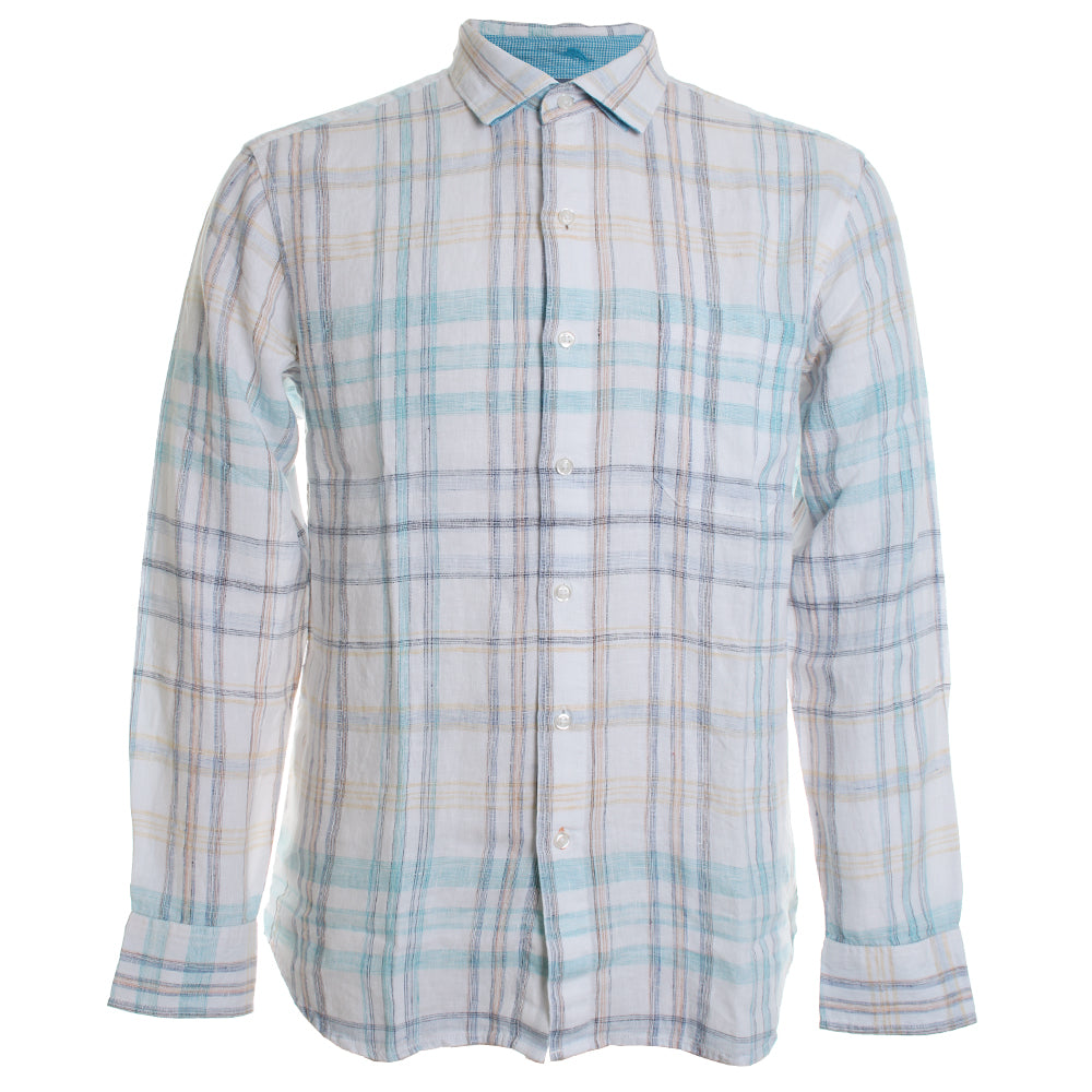 La Salina Plaid Button Down Shirt