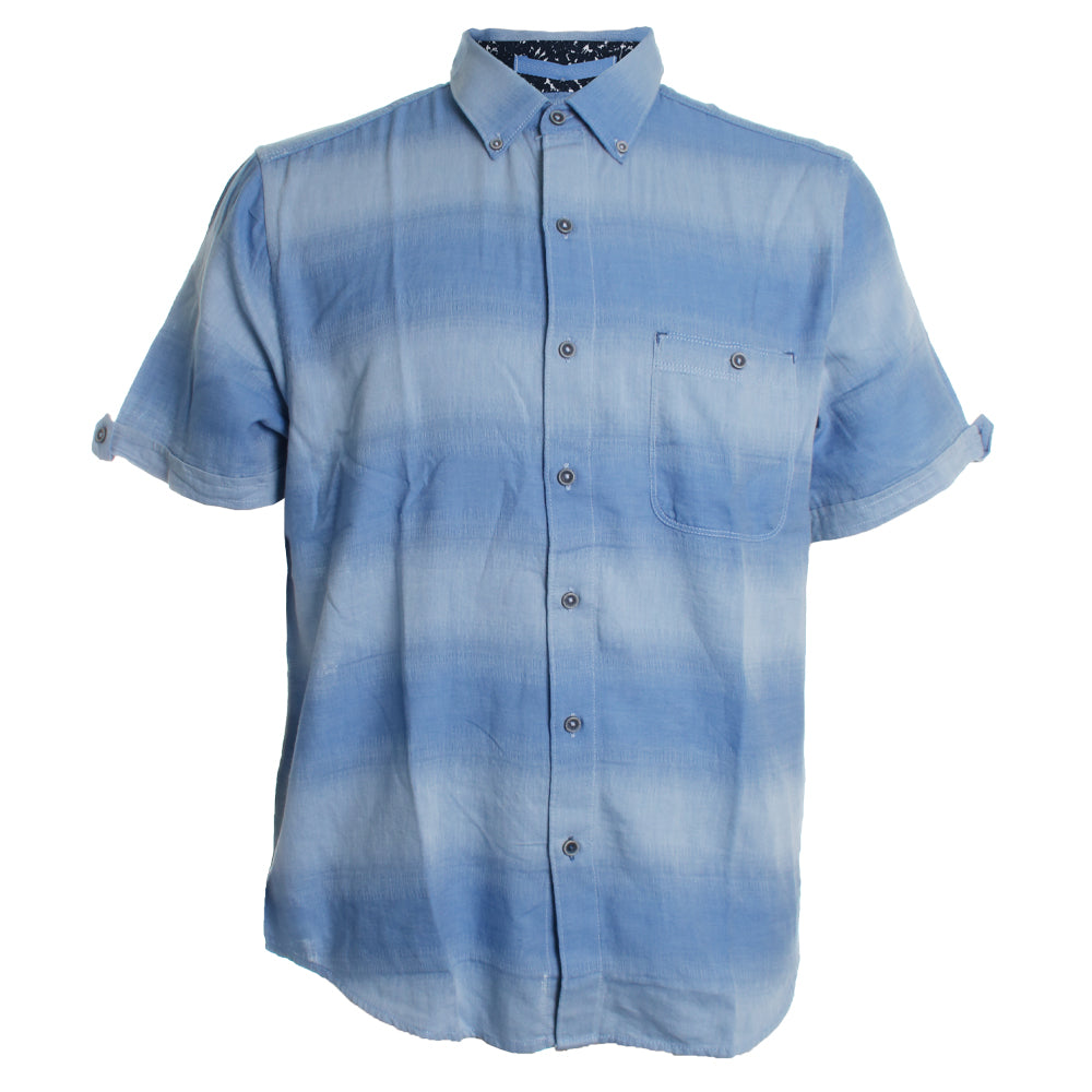 Ocean Fade Button Down
