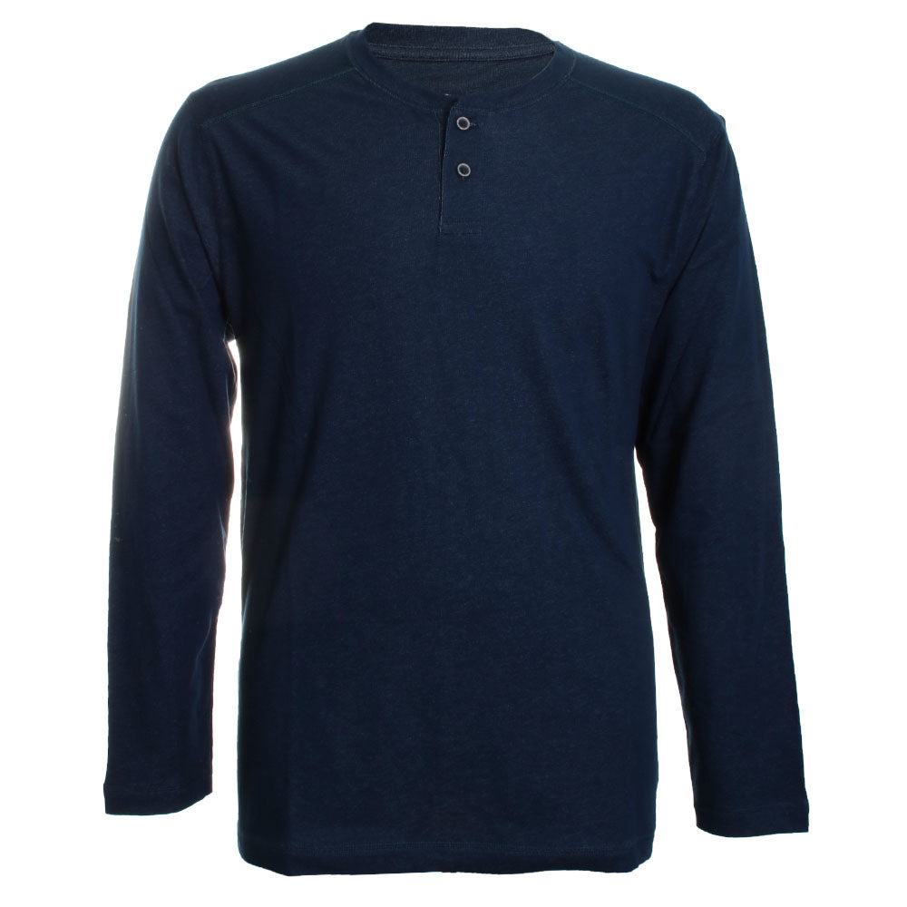 Paradise Valley Long Sleeve Henley Shirt