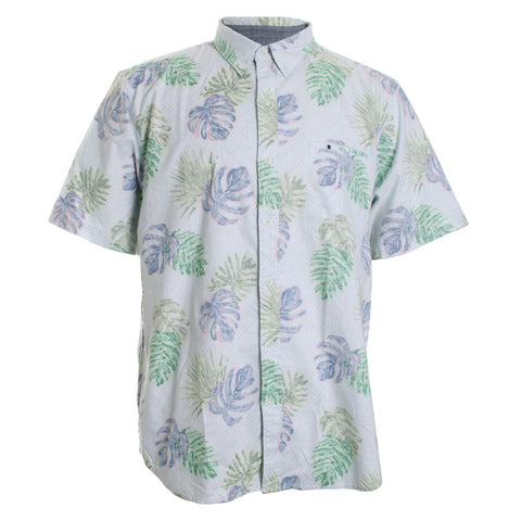 Rattan Lines Floral Button Down