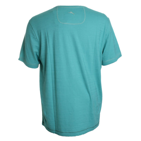Wave Tropic V Neck Tee Shirt