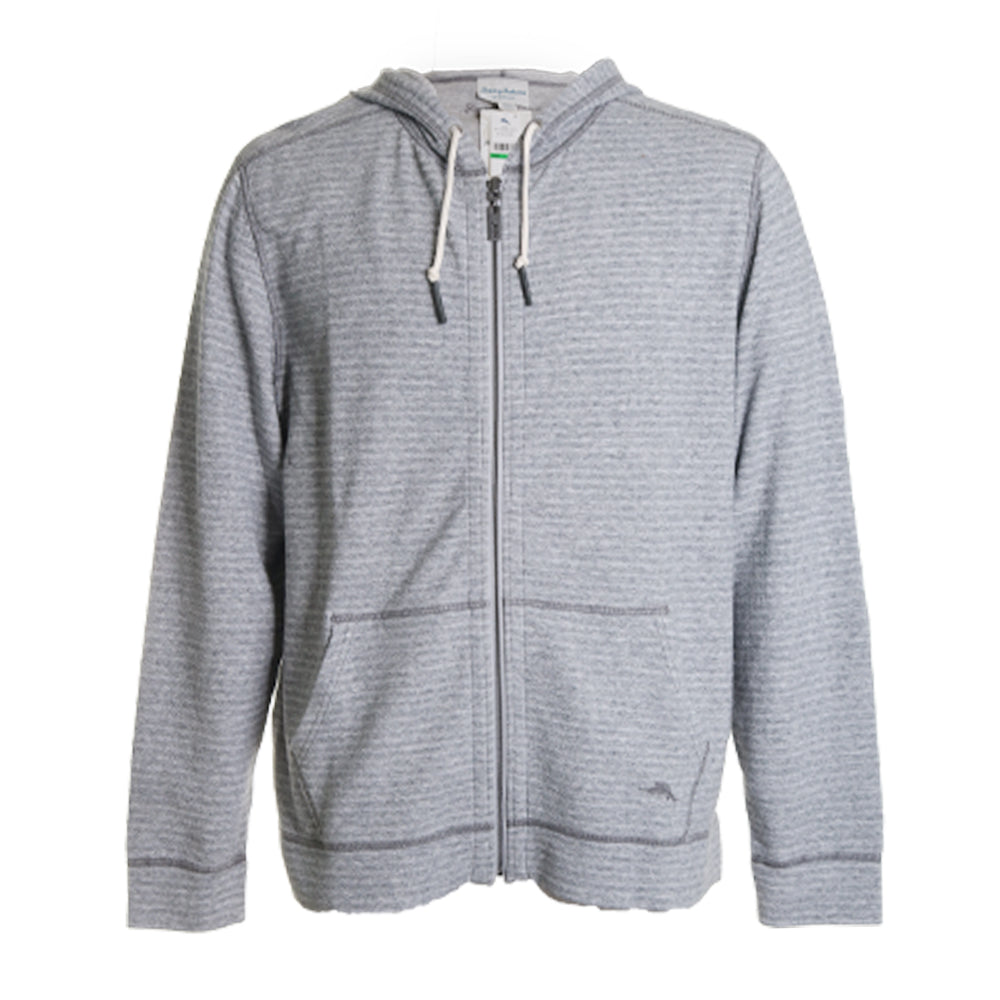 Hooded Zip-Up Sweater
