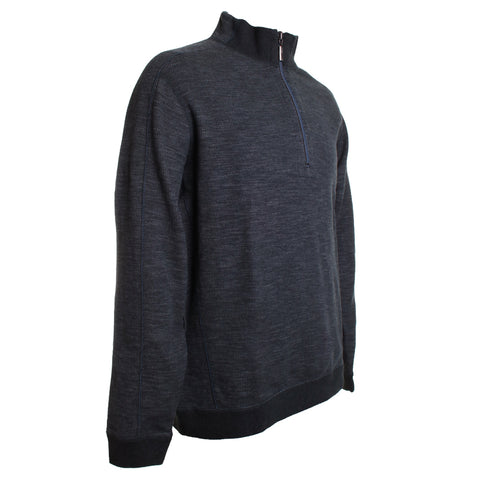 Flipsider Half Zip Knit Sweater