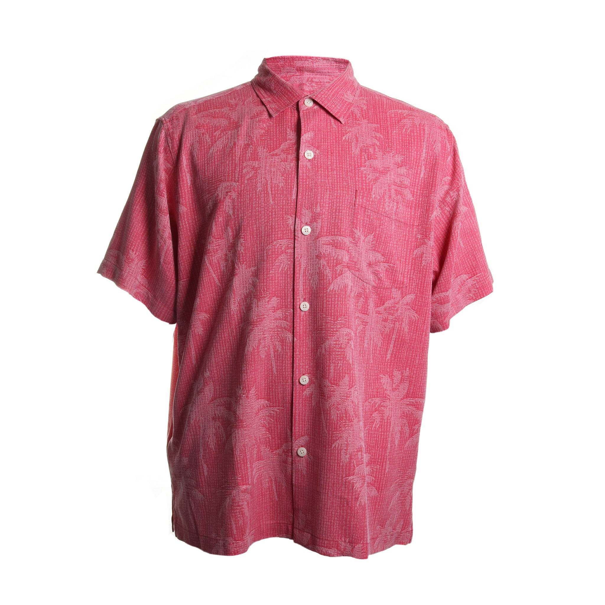 Digital Palms Silk Button Down
