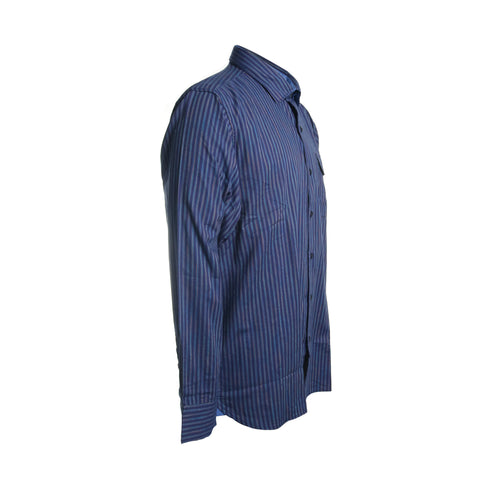 Vista Lago Stripe Button Down Shirt