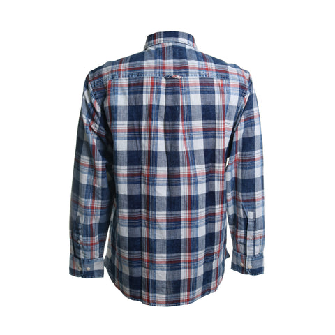 Hazy Days Plaid Button Down Shirt
