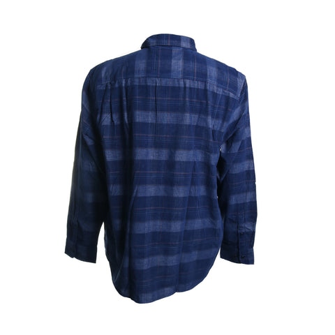 Del Coast Cord Plaid Button Down Shirt