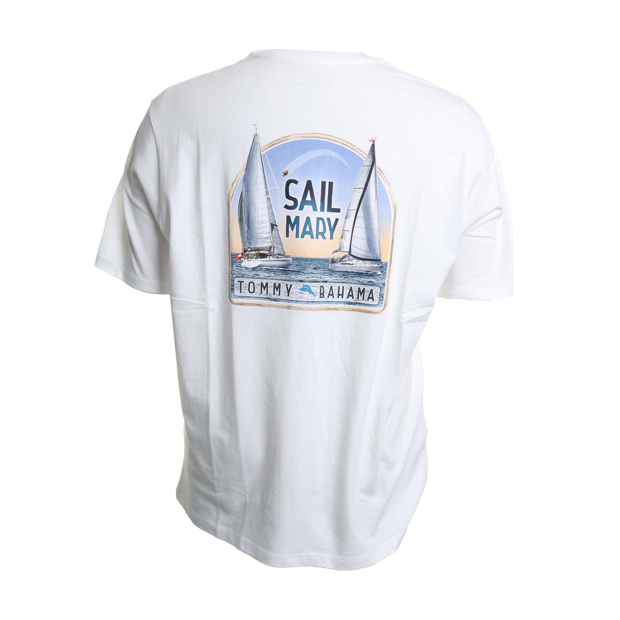Sail Mary Cotton Crew Neck Tee