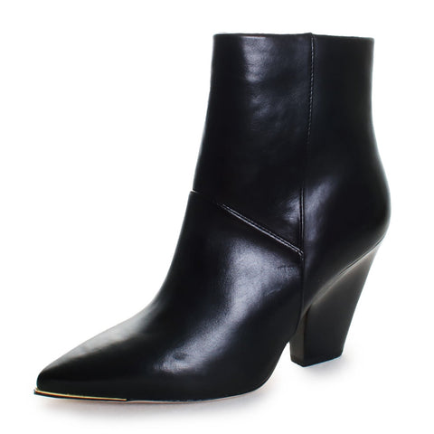 Lila 90mm Zip Up Ankle Booties