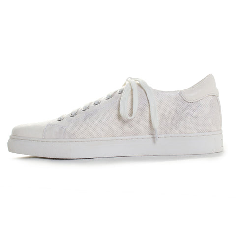 Alder Perforated Leather Fashion Sneakers