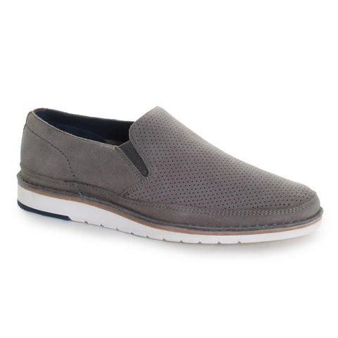 Barnett Suede Slip-On Loafers