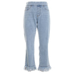 Audrey Pull On Cropped Jeans