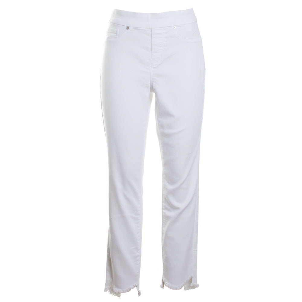 Frayed Hem Jeggings