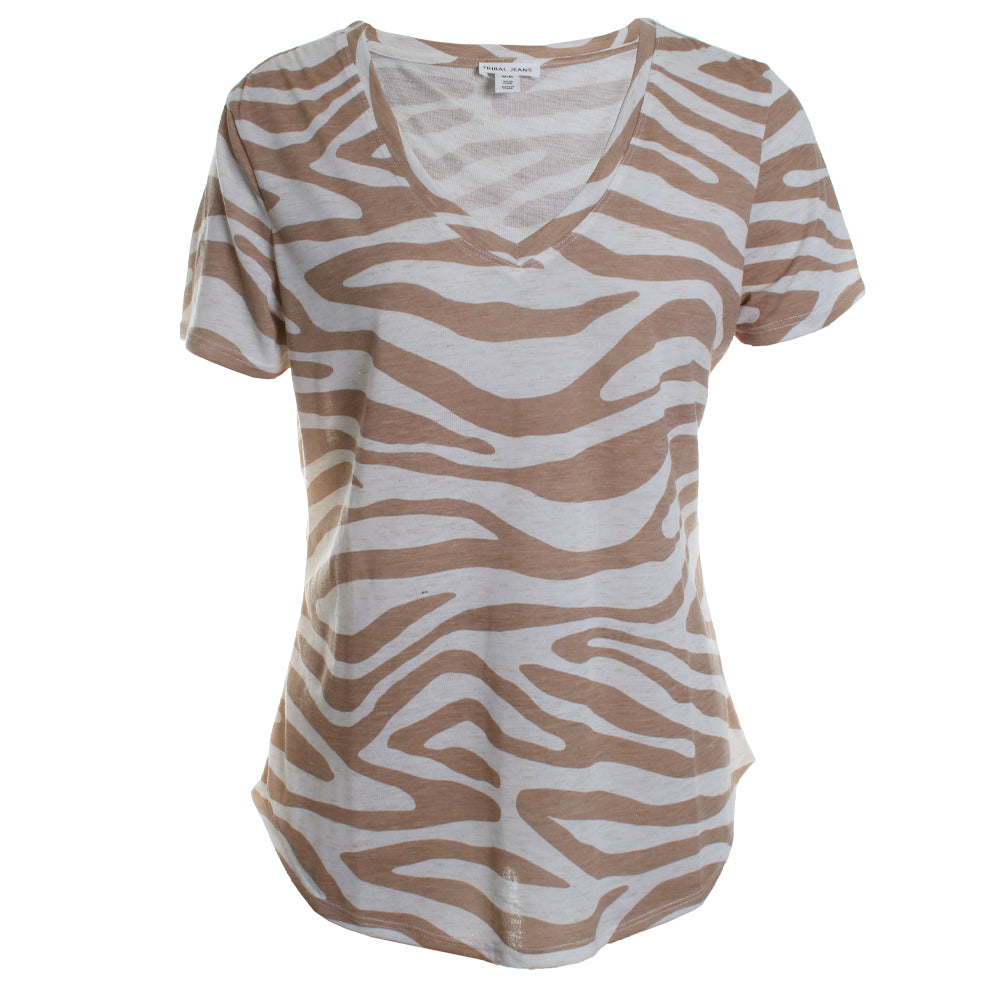 Safari Animal Print Blouse